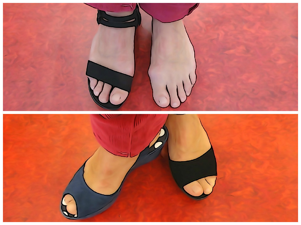 Schoenen met brede leest