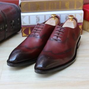 schoenen met punt en glim voorkant verlengend