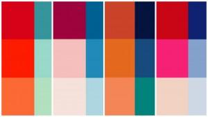 Kleurenanalyse - vier seizoenen