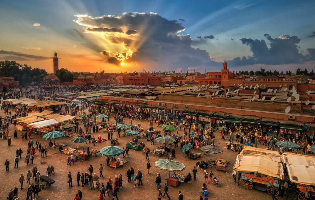 El Fna - kleurenworkshop Marrakech