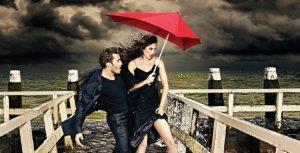 Senz paraplu tegen regen en storm