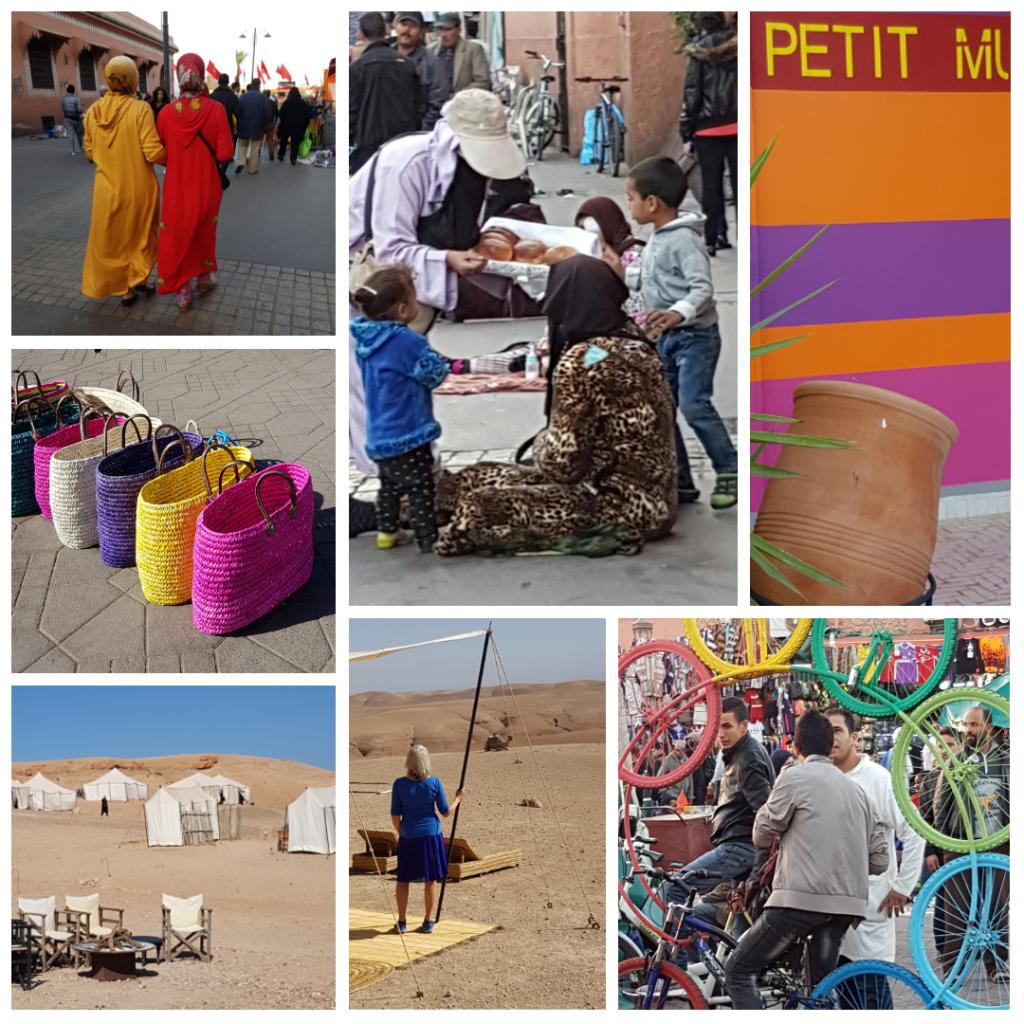 Stedentrip Kleurrijk Marrakesh