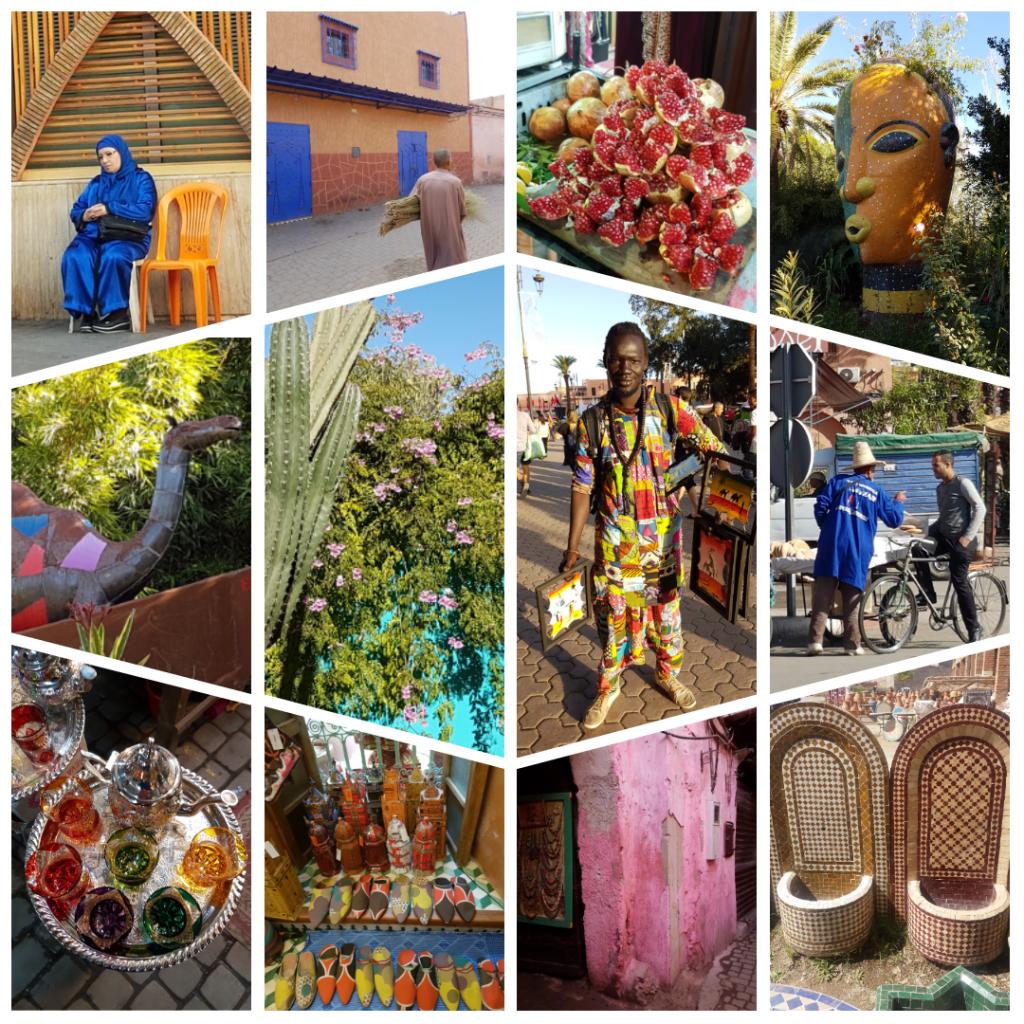 City trip Colourful Marrakesh