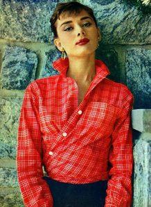 halslijn voor vrouwen: opstaande kraag