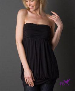 Halslijnen voor vrouwen: strapless