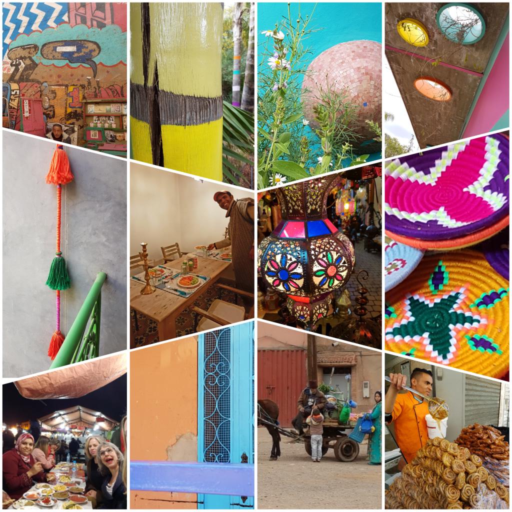 Kleurrijk Marrakesh