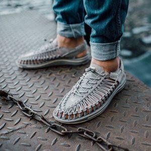 Open schoenen voor mannen