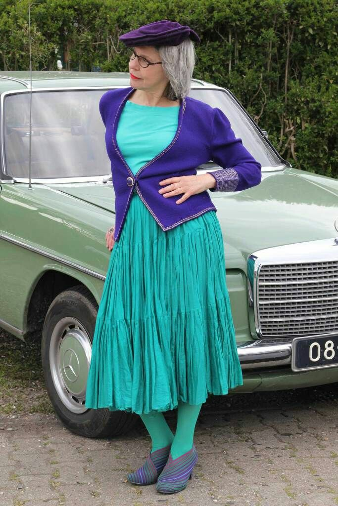 Hoe draag je vintagekleding?
